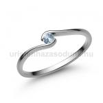 E105FK Akvamarin gyűrű