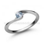 E106FK Akvamarin gyűrű