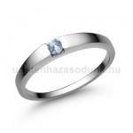 E10FK Akvamarin gyűrű