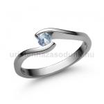 E14FK Akvamarin gyűrű