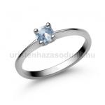 E25FK Akvamarin gyűrű