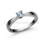 E2FK Akvamarin gyűrű