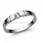 E310FK Akvamarin gyűrű