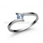 E3FK Akvamarin gyűrű