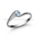 E4FK Akvamarin gyűrű