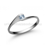 E5FK Akvamarin gyűrű