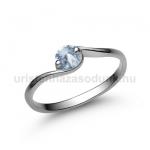 E6FK Akvamarin gyűrű