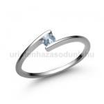 E7FK Akvamarin gyűrű