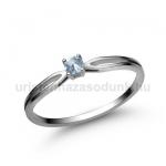 E8FK Akvamarin gyűrű