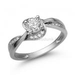 E108FB Gyémánt gyűrű