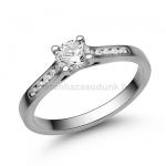 E109FB Gyémánt gyűrű