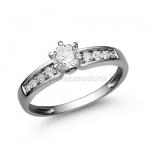 E17FB Gyémánt gyűrű