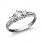 E18FB Gyémánt gyűrű