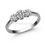 E314FB Gyémánt gyűrű
