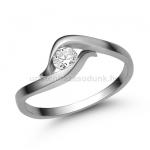 E326FB Gyémánt gyűrű