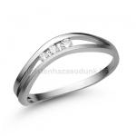 E329FB Gyémánt gyűrű