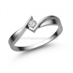 E334FB Gyémánt gyűrű