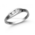 E337FB Gyémánt gyűrű
