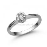 E347FB Gyémánt gyűrű