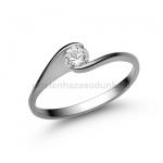 E4FB Gyémánt gyűrű