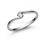 E105FC Cirkónia köves gyűrű