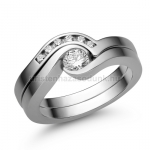 E204FC Cirkónia köves gyűrű