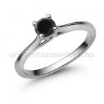 E112FBB Fekete gyémánt gyűrű
