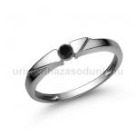 E12FBB Fekete gyémánt gyűrű