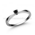 E1FBB Fekete gyémánt gyűrű