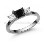 E201FBB Fekete gyémánt gyűrű