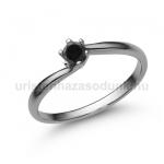 E209FBB Fekete gyémánt gyűrű