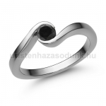 E212FBB Fekete gyémánt gyűrű