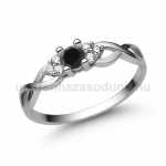 E301FBB Fekete gyémánt gyűrű