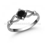 E303FBB Fekete gyémánt gyűrű