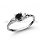 E304FBB Fekete gyémánt gyűrű