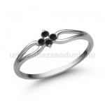 E305FBB Fekete gyémánt gyűrű