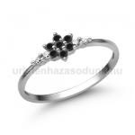 E306FBB Fekete gyémánt gyűrű