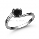 E307FBB Fekete gyémánt gyűrű