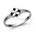 E308FBB Fekete gyémánt gyűrű