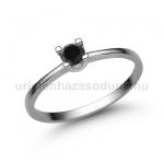 E309FBB Fekete gyémánt gyűrű