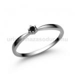 E30FBB Fekete gyémánt gyűrű