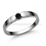 E310FBB Fekete gyémánt gyűrű