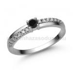 E311FBB Fekete gyémánt gyűrű