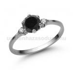 E312FBB Fekete gyémánt gyűrű
