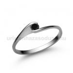 E5FBB Fekete gyémánt gyűrű