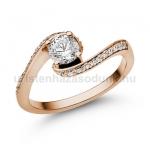 E103RB Gyémánt gyűrű
