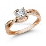 E108RB Gyémánt gyűrű