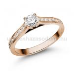 E111RB Gyémánt gyűrű