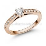 E118RB Gyémánt gyűrű