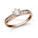 E17RB Gyémánt gyűrű